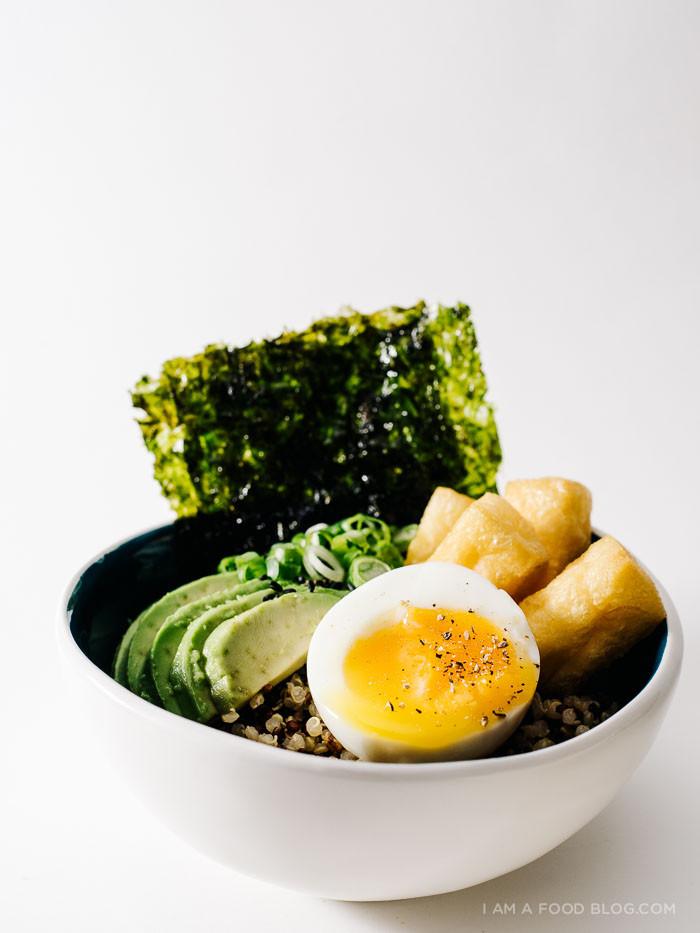 Quinoa Breakfast Bowl  Quinoa Breakfast Bowl with Soft Boiled Eggs Avocado