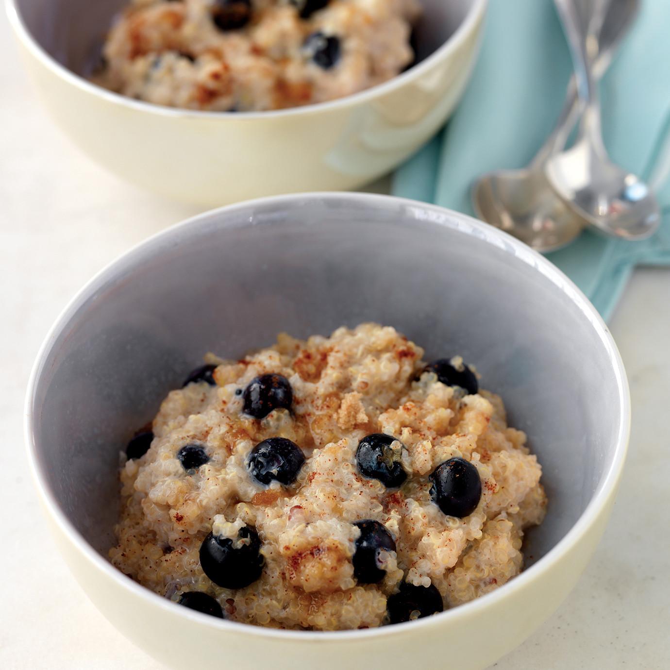Quinoa Breakfast Recipes  Quinoa Cereal Recipes