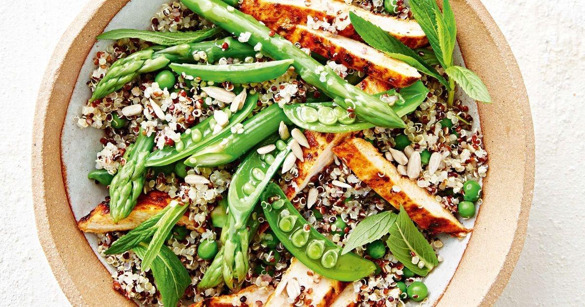 Quinoa Recipes With Chicken  Chicken quinoa salad