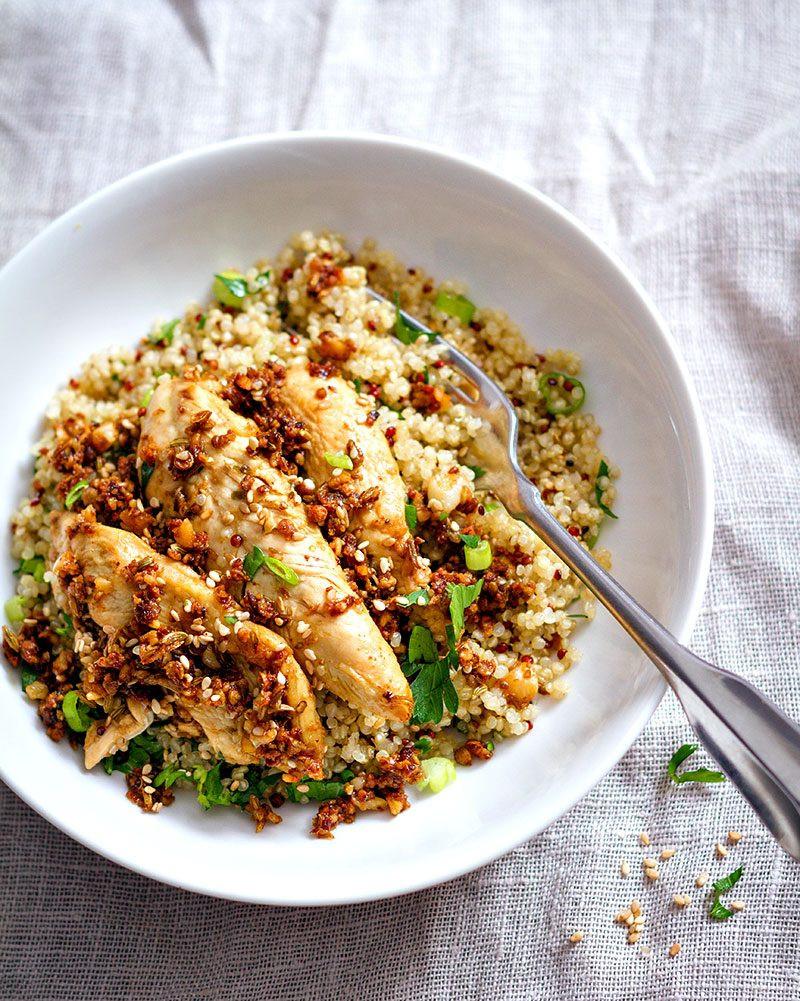 Quinoa Recipes With Chicken  Garlic Lime Chicken Tenders and Quinoa Recipe — Eatwell101