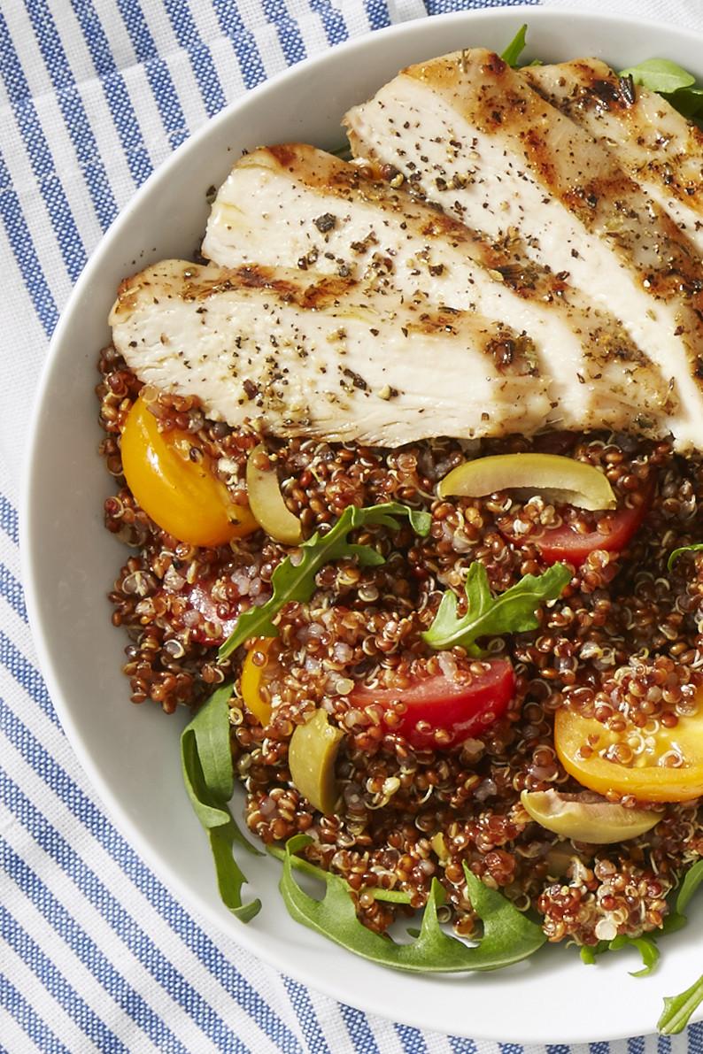 Quinoa Recipes With Chicken  Best Chicken Quinoa Bowls Recipe How to Make Chicken