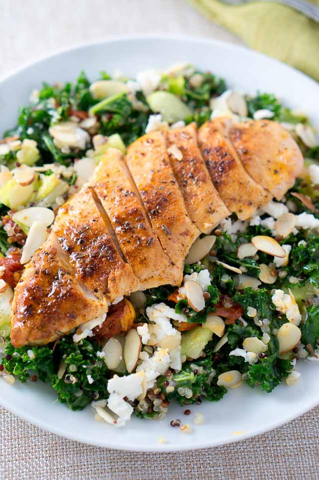 Quinoa Recipes With Chicken  chicken quinoa salad recipes