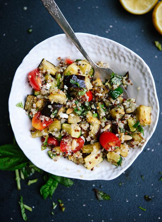 Quinoa Salad Mediterranean  Mediterranean Quinoa Salad Cookie and Kate