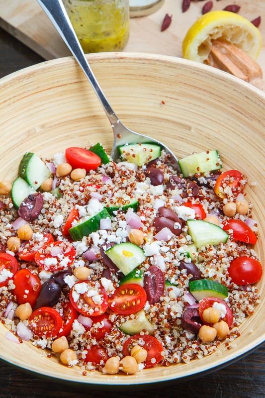 Quinoa Salad Mediterranean  Mediterranean Quinoa Salad on Closet Cooking
