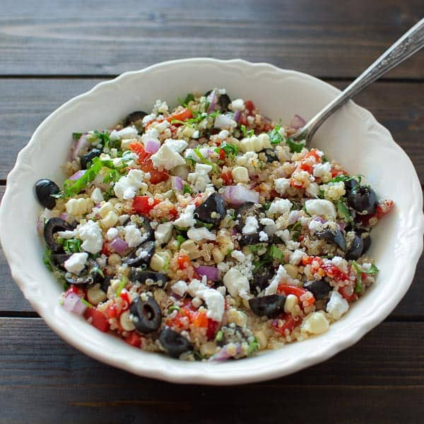 Quinoa Salad Mediterranean  Mediterranean Quinoa Salad COOKTORIA