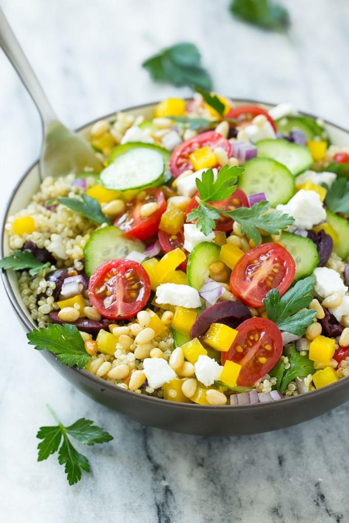 Quinoa Salad Mediterranean  Mediterranean Quinoa Salad Dinner at the Zoo