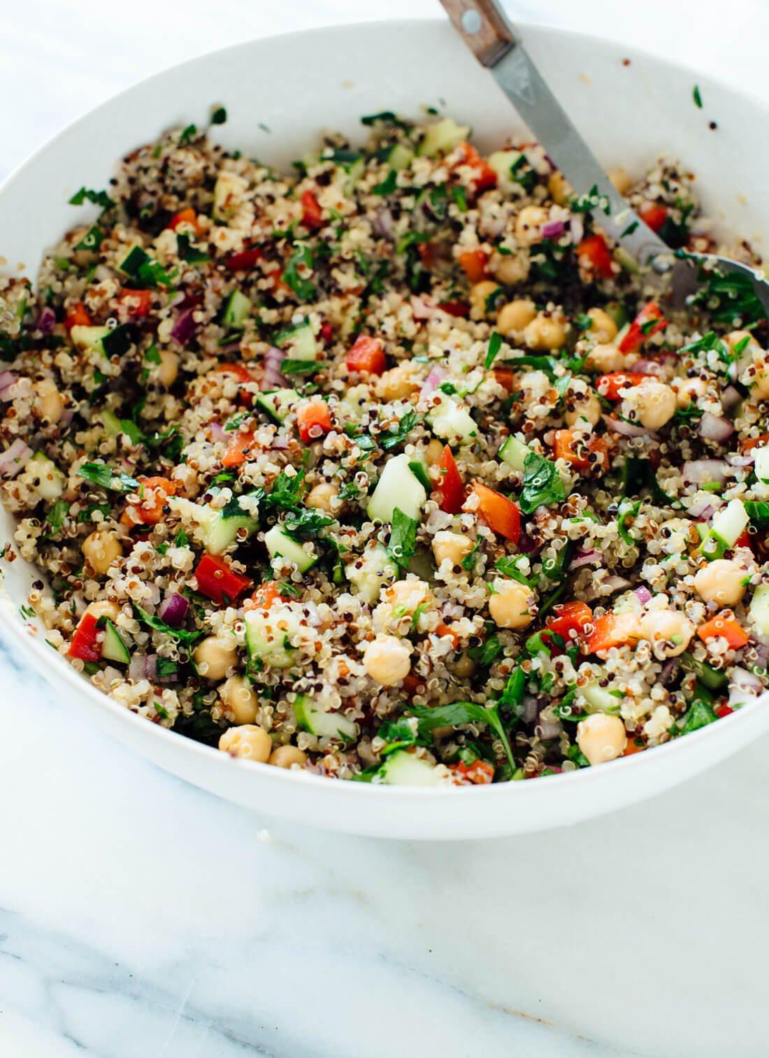 Quinoa Salad Recipe  Favorite Quinoa Salad Recipe Cookie and Kate