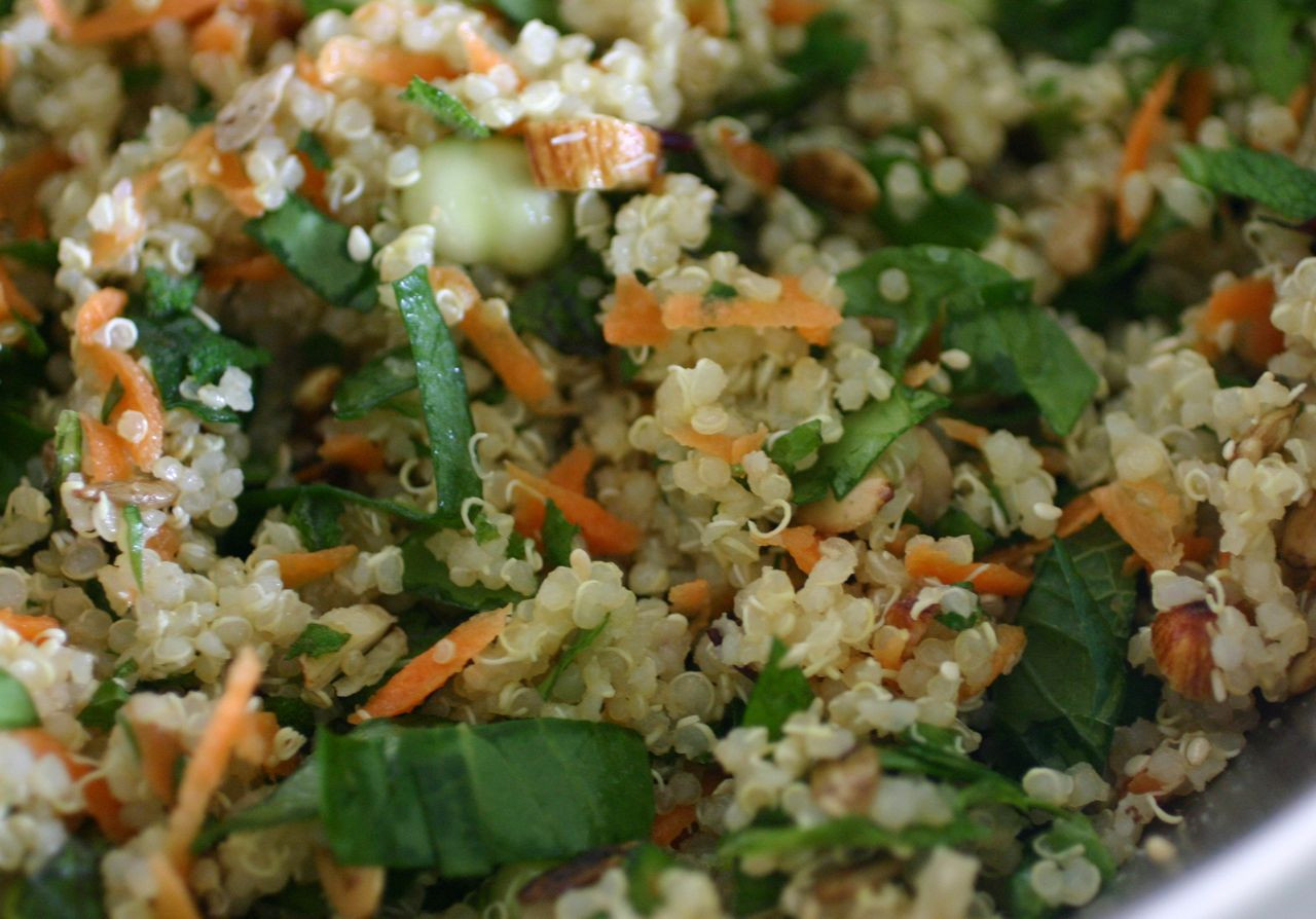 Quinoa Salad Recipe  Alkaline Diet Recipe 148 Cool Quinoa Summer Salad Live