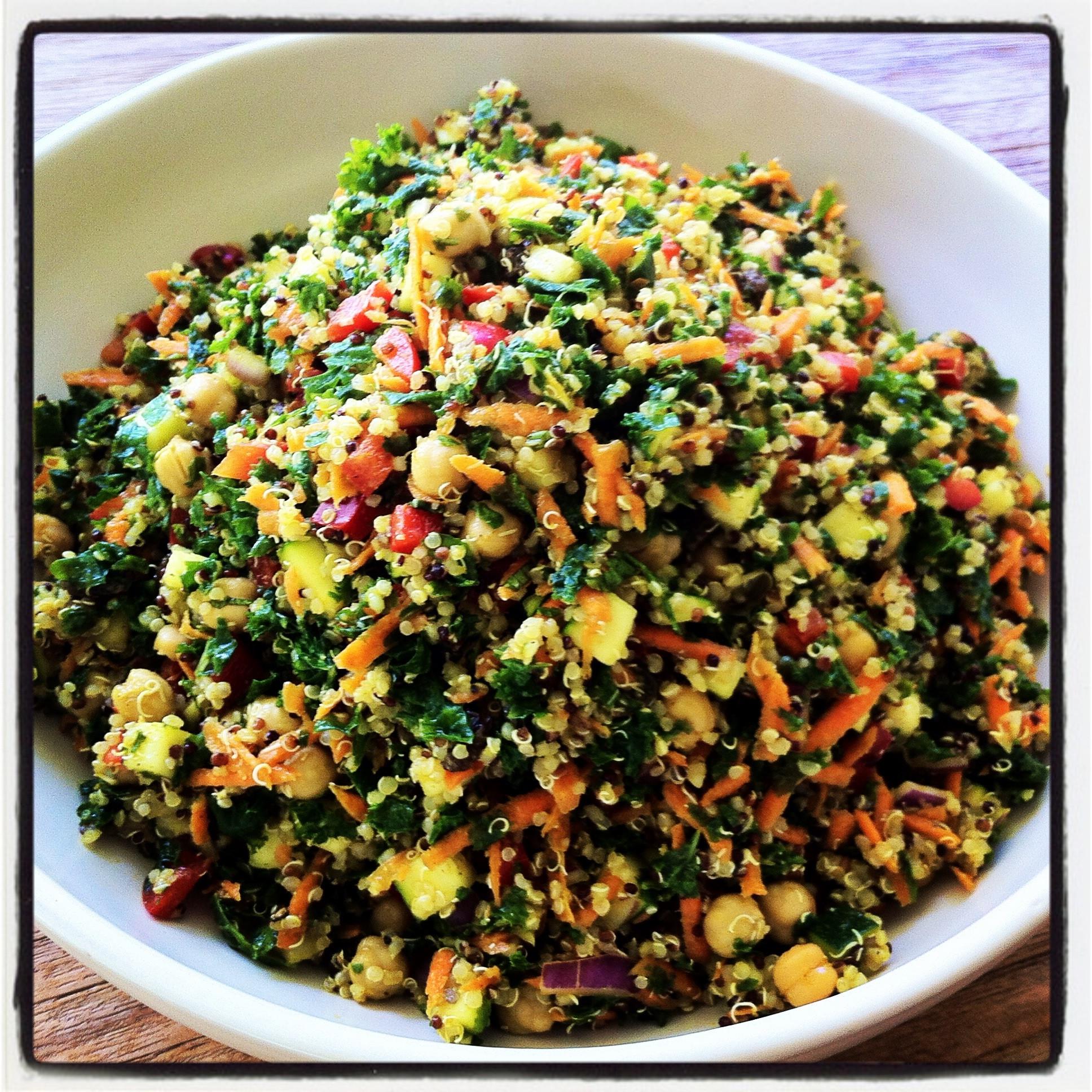 Quinoa Salad Recipe  A delicious cleansing recipe for spring