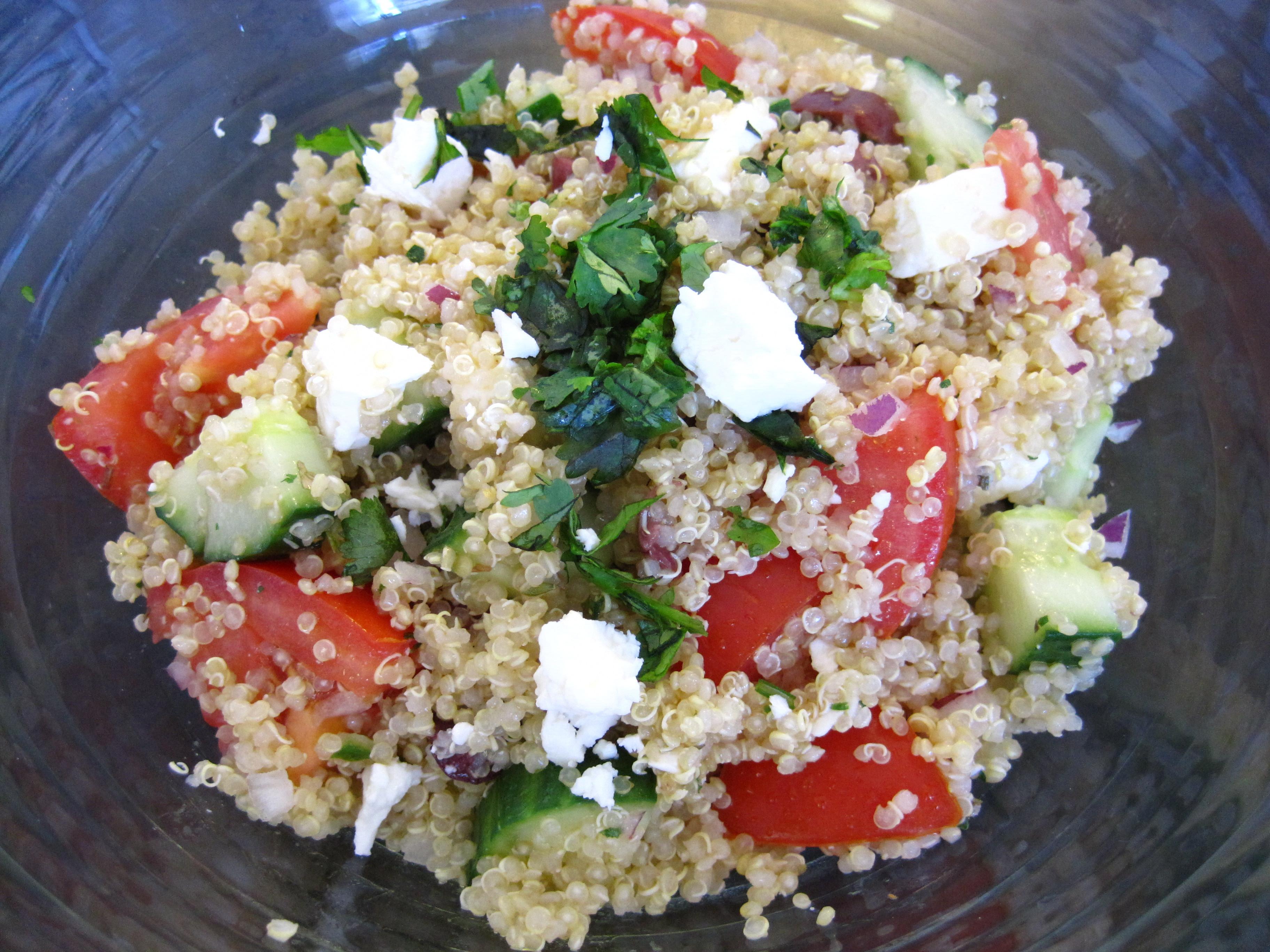 Quinoa Salad Recipe  Greek Quinoa Salad Recipe