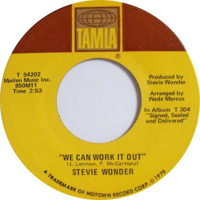 Rainbow Stew Lyrics  stevie wonder we can work it out