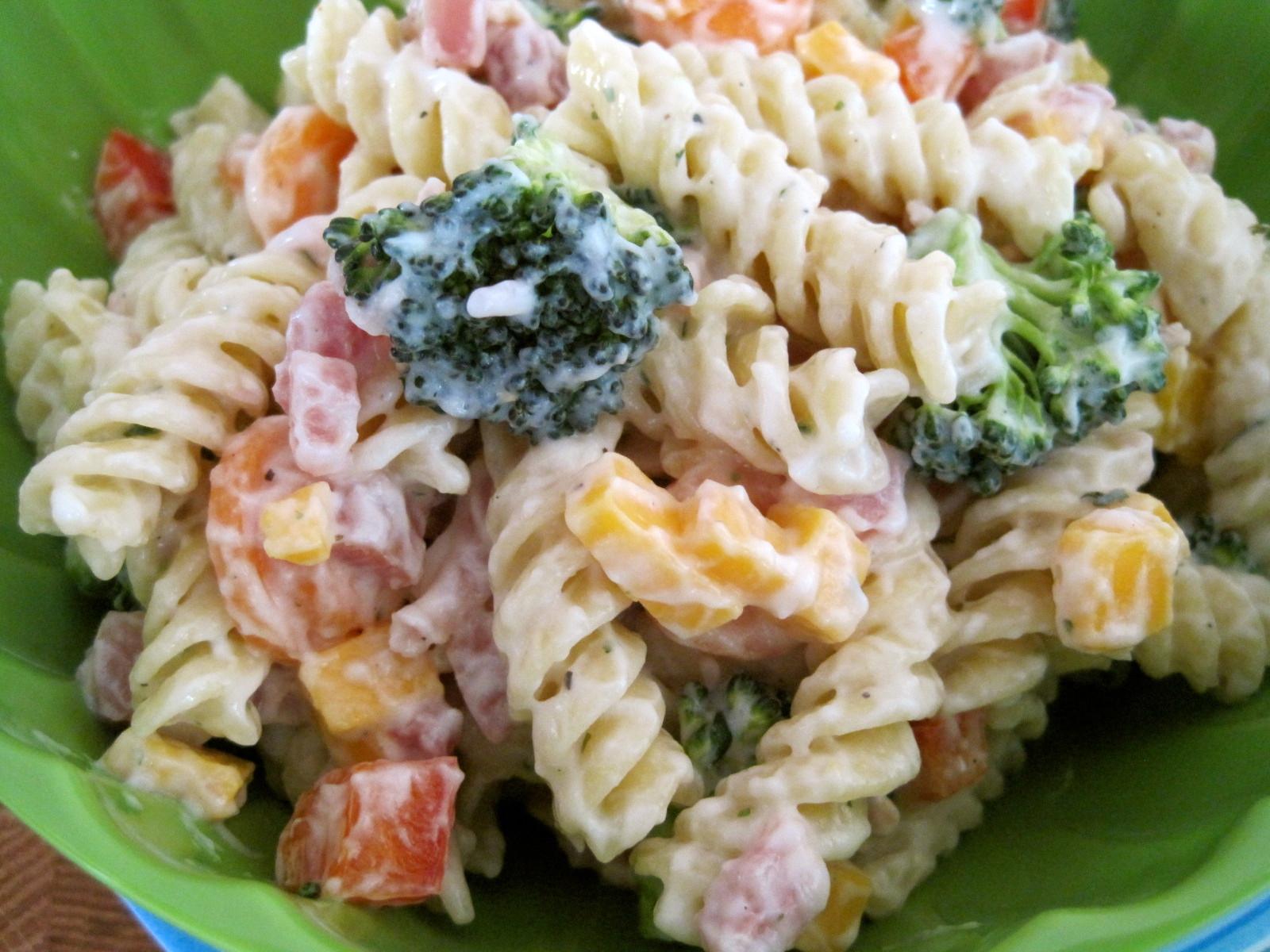 Ranch Pasta Salad  Mrs Schwartz s Kitchen Ranch Pasta Salad