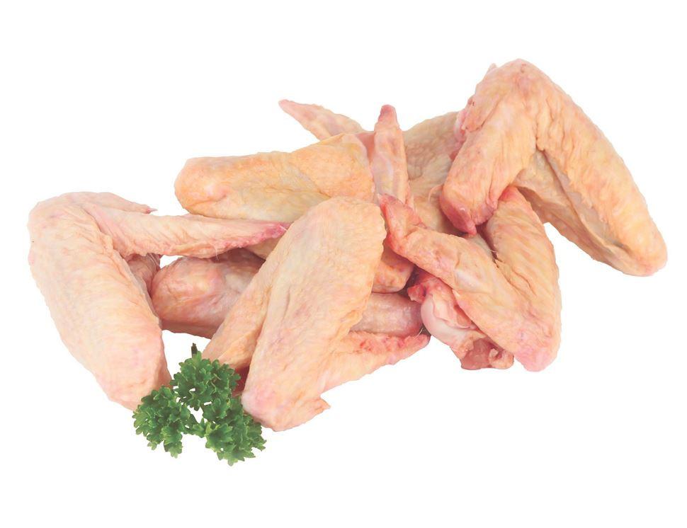 Raw Chicken Wings  Chicken Wings Free Range 1kg pack of 8 10