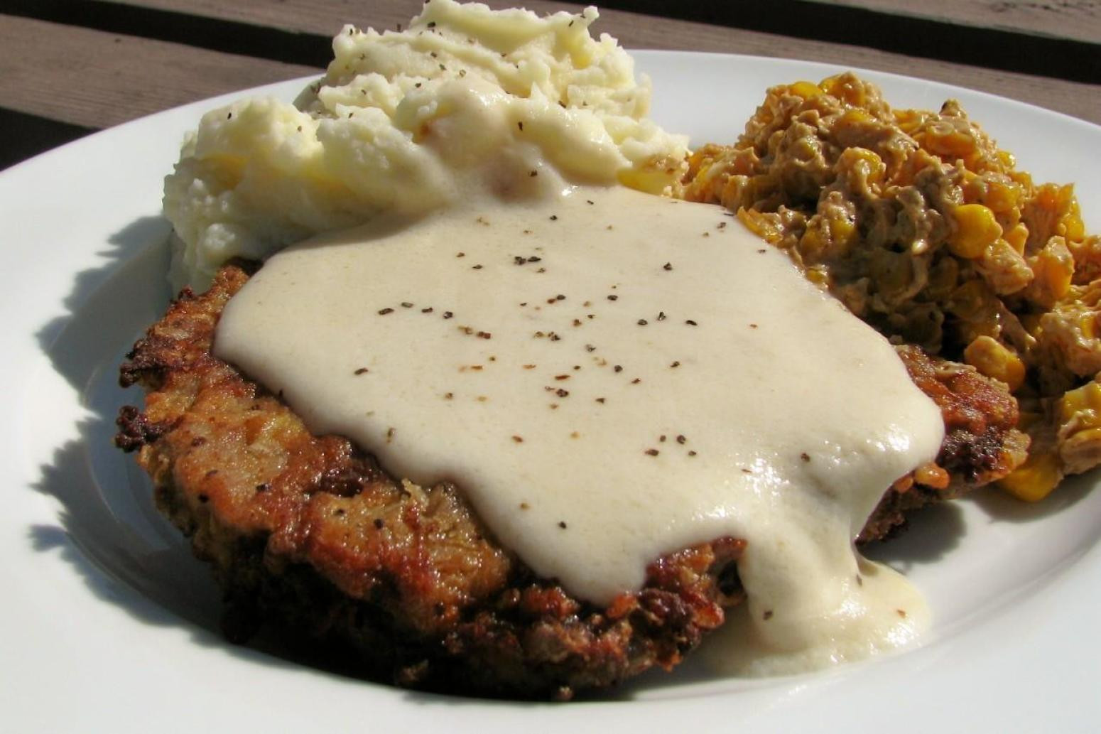 Recipe For Chicken Fried Steak  Chicken Fried Steak with Gravy Recipe