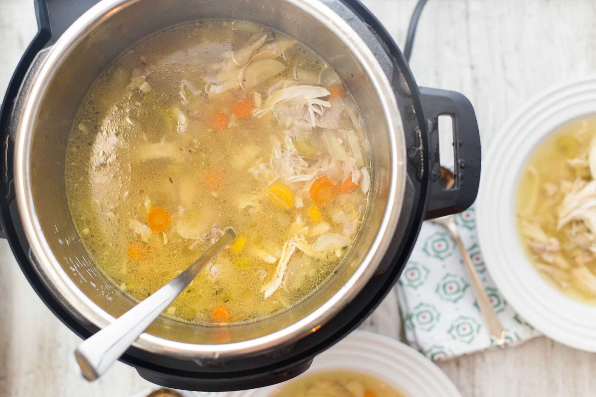 Recipe For Chicken Soup  How to Make Chicken Soup in the Pressure Cooker Recipe