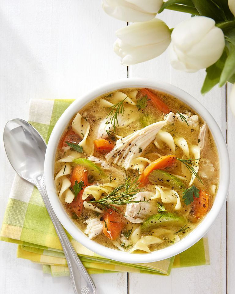 Recipe For Chicken Soup  Easy Homemade Chicken Noodle Soup Recipe – How to Make