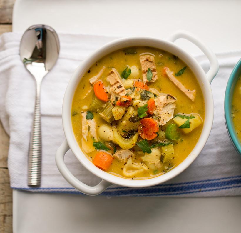 Recipe For Chicken Soup  Vegan Chicken Soup Vegan Recipe