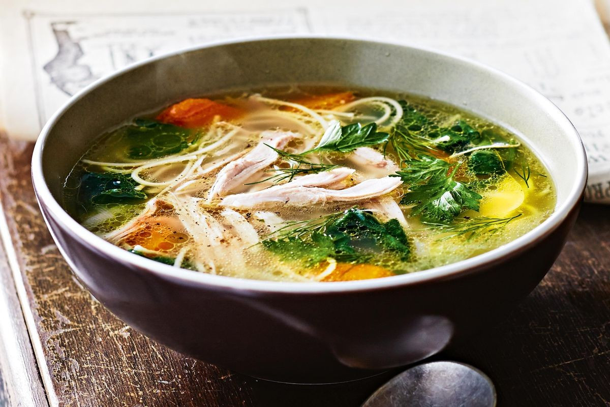 Recipe For Chicken Soup  Chicken noodle soup Recipes delicious