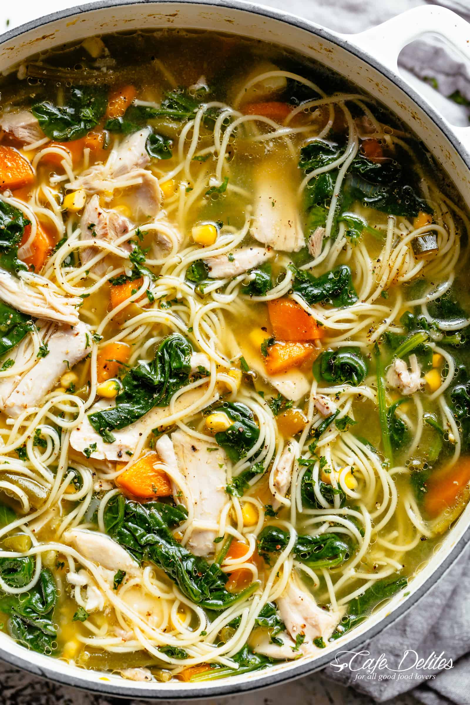 Recipe For Chicken Soup  Chicken Noodle Soup TheDirtyGyro
