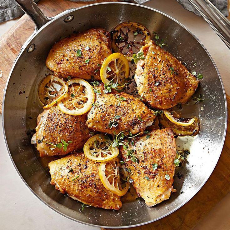 Recipe For Chicken Thighs  healthy chicken thigh recipes