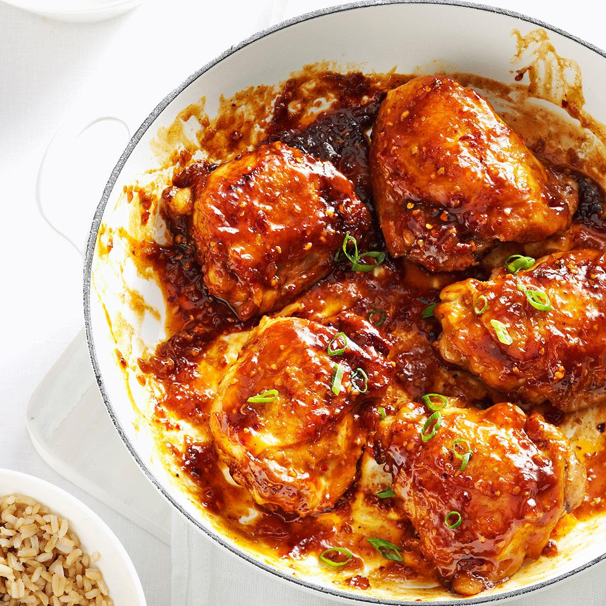 Recipe For Chicken Thighs  Asian Chicken Thighs Recipe