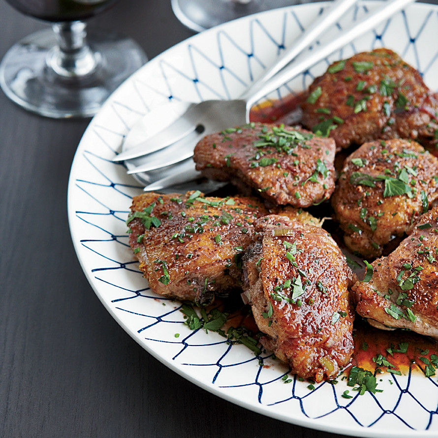 Recipe For Chicken Thighs  Spice Rubbed Chicken Thighs Recipe Tre Wilcox