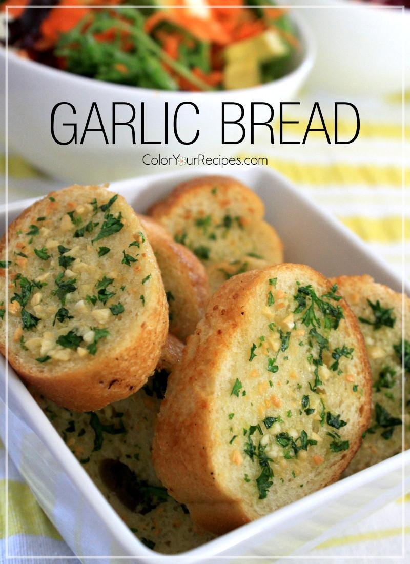Recipe For Garlic Bread  Simple Garlic Bread Recipe — Dishmaps