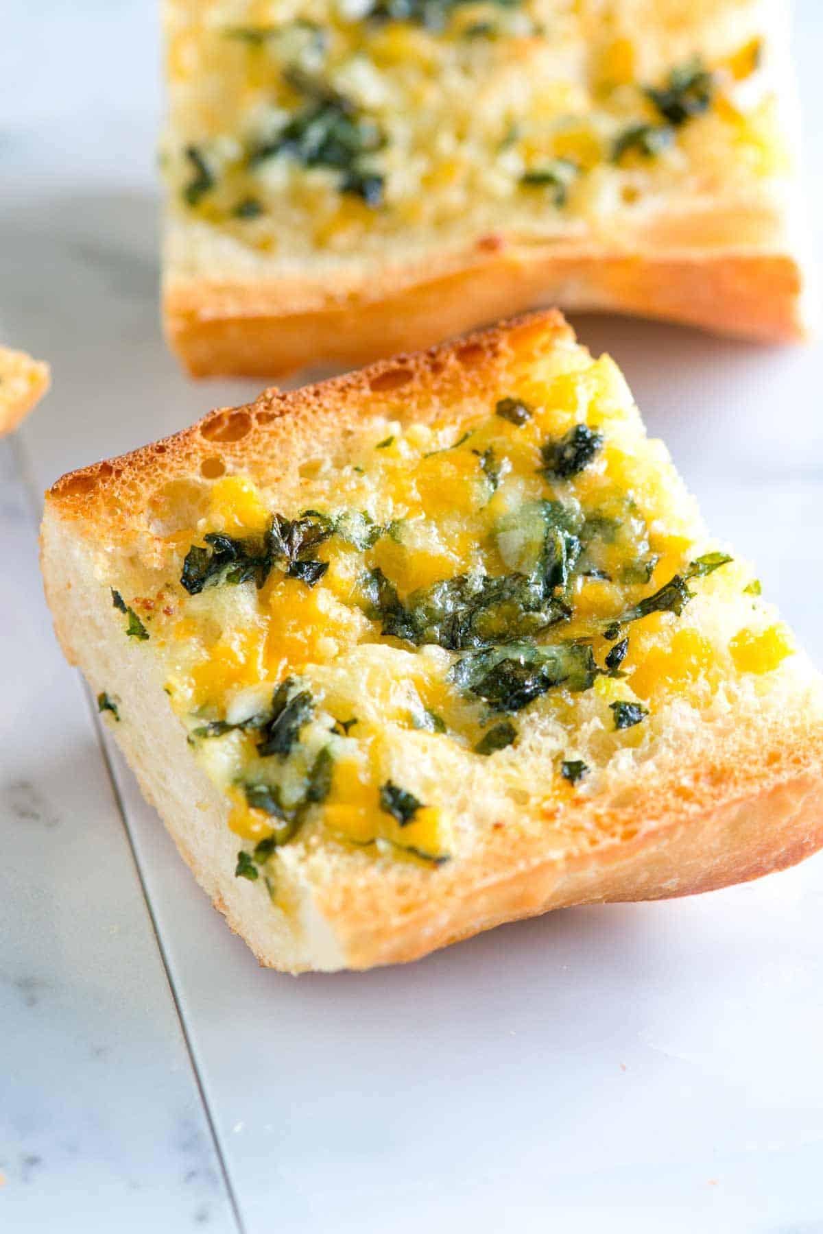 Recipe For Garlic Bread  Easy Homemade Garlic Cheese Bread Recipe