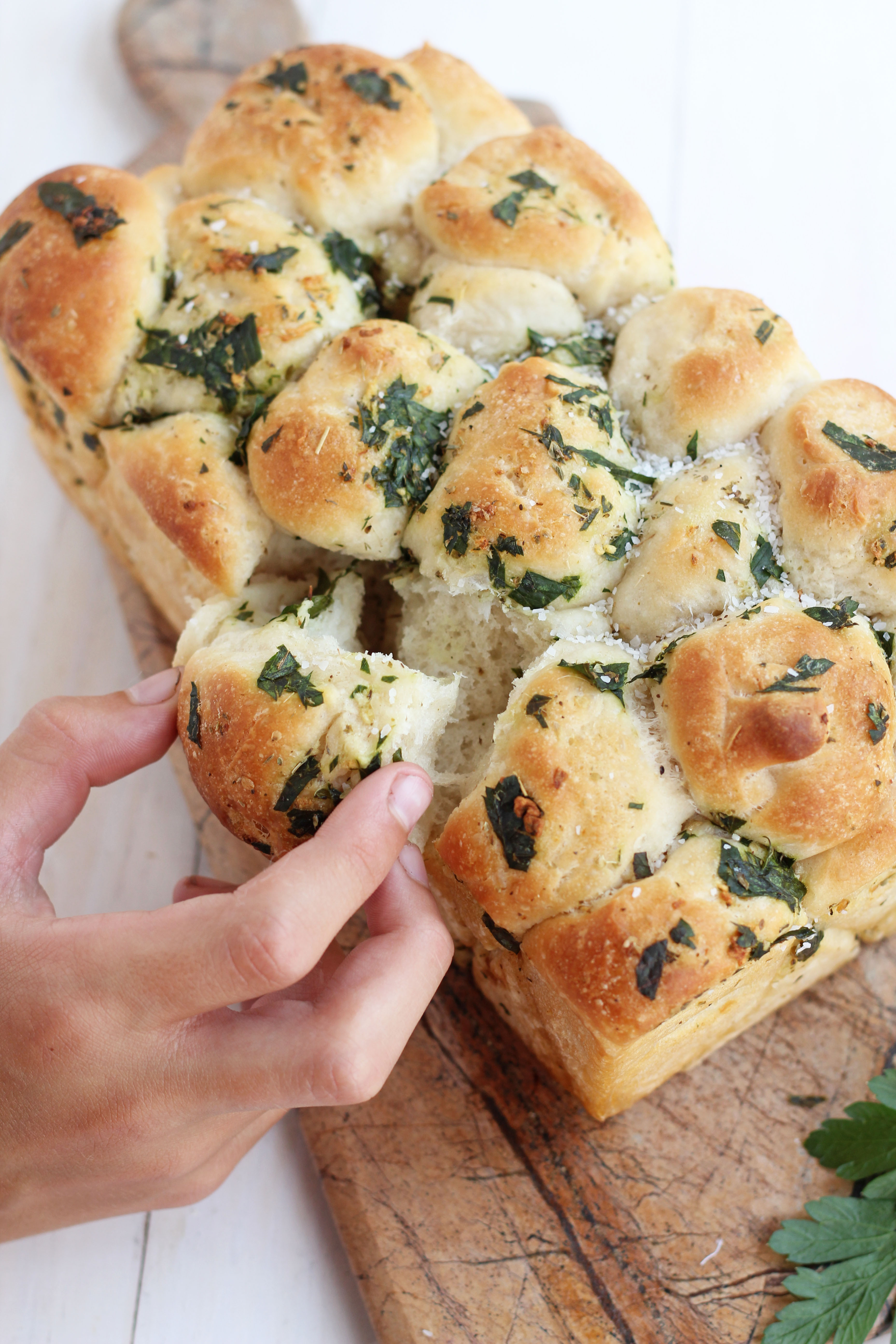 Recipe For Garlic Bread  Pull Apart Garlic Bread