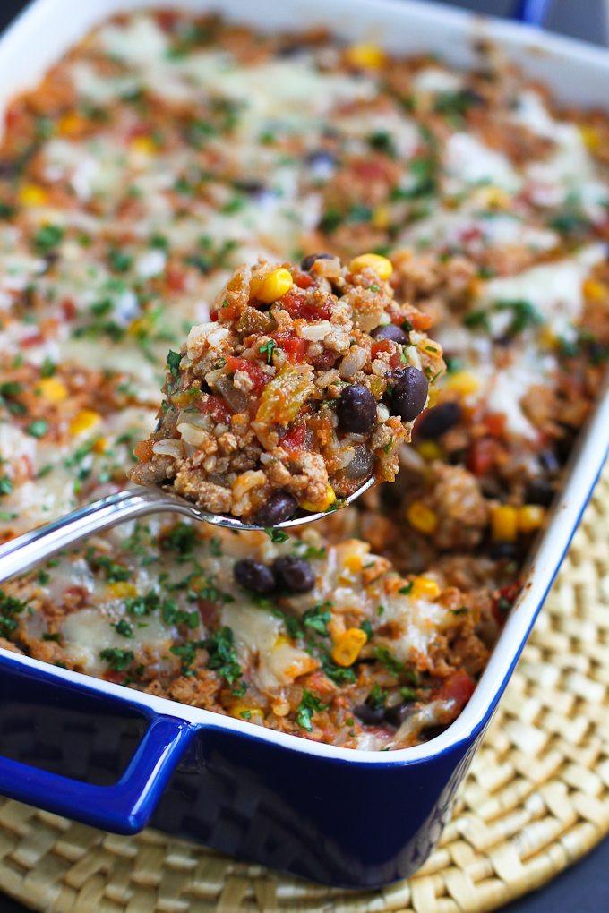 Recipe For Ground Turkey  ground turkey casserole recipes