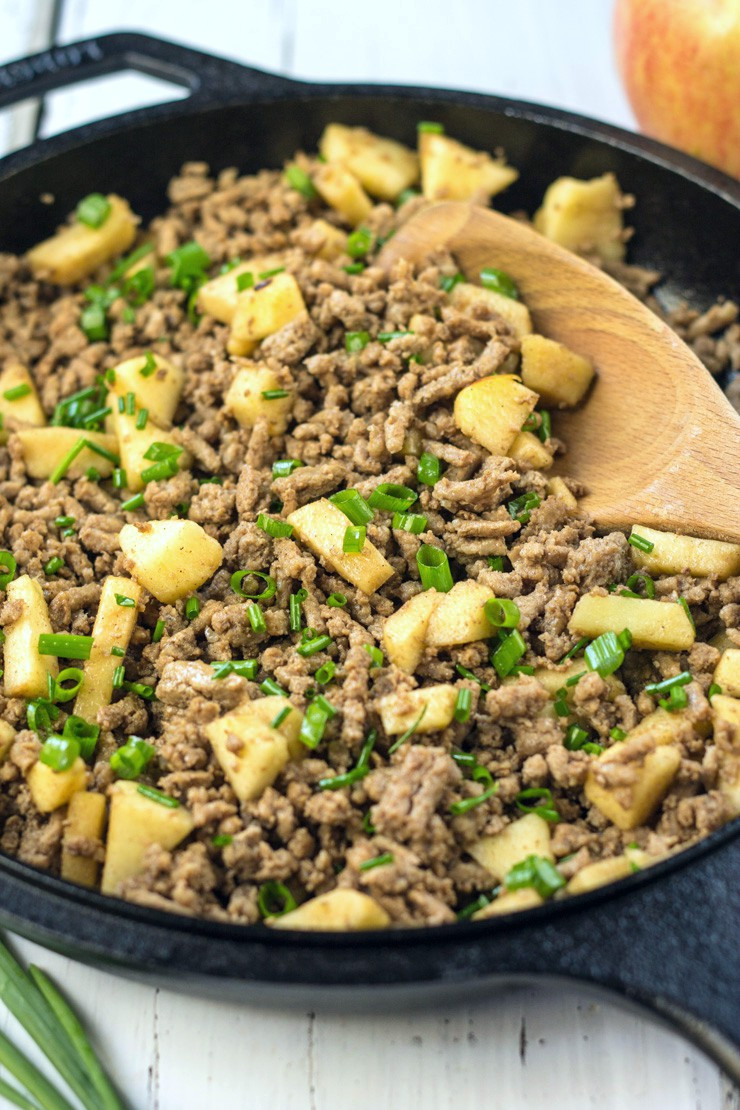 Recipe For Ground Turkey  ground turkey apple recipe
