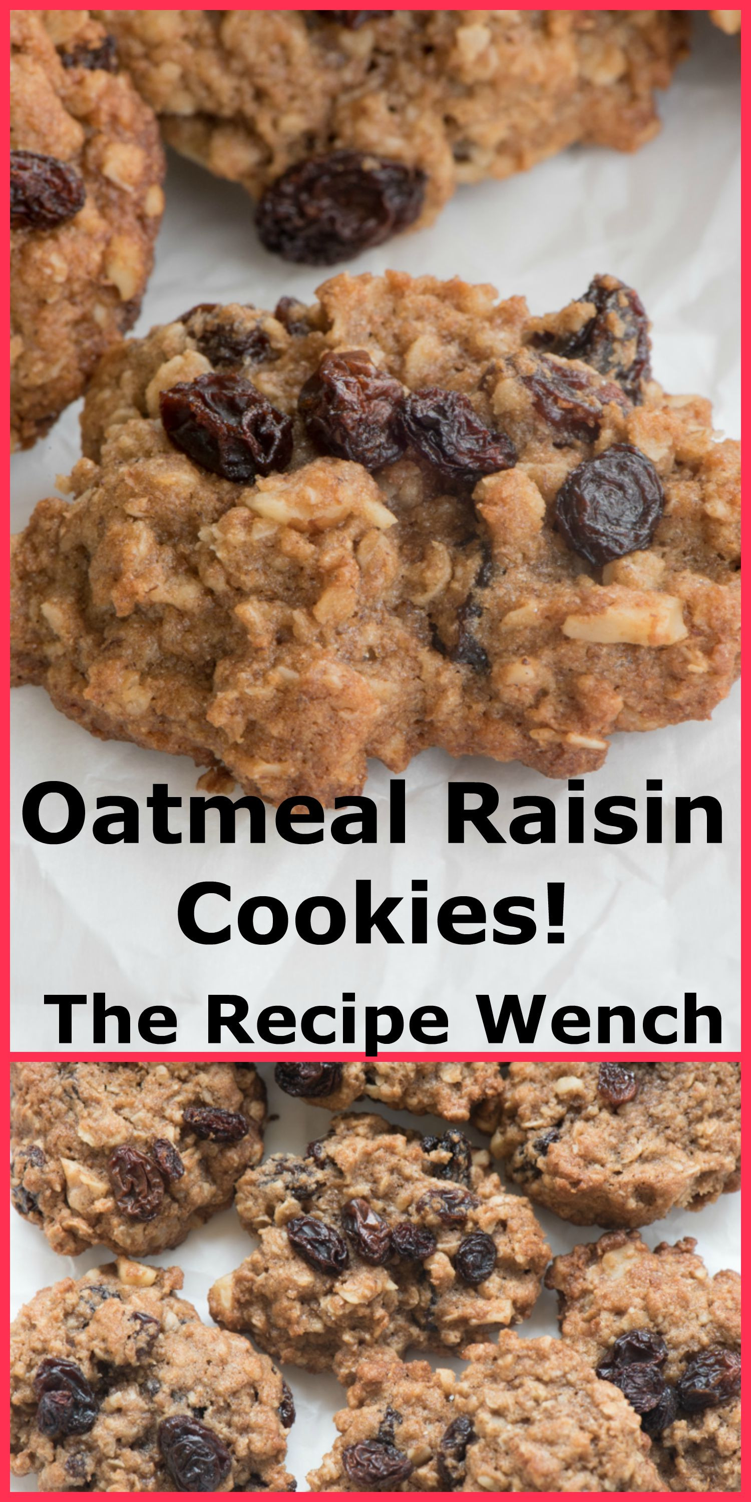 Recipe For Oatmeal Raisin Cookies  Oatmeal Raisin Cookies The Recipe Wench