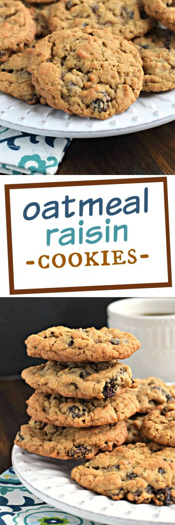 Recipe For Oatmeal Raisin Cookies  Oatmeal Raisin Cookies Recipe — Dishmaps