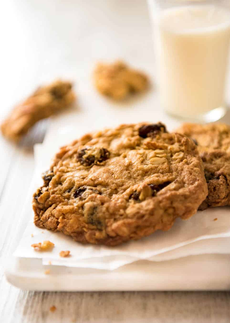 Recipe For Oatmeal Raisin Cookies  Oatmeal Raisin Cookies Soft & Chewy