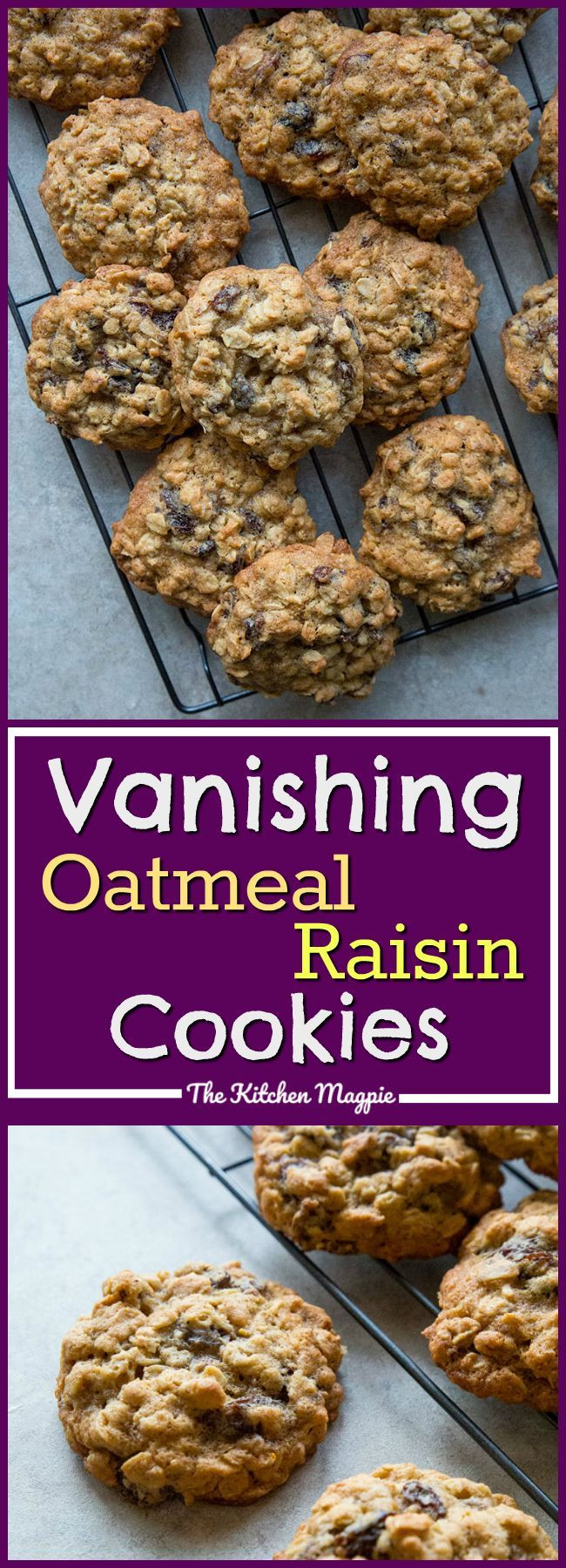 Recipe For Oatmeal Raisin Cookies  25 bästa Quaker oatmeal cookie recipe idéerna på Pinterest