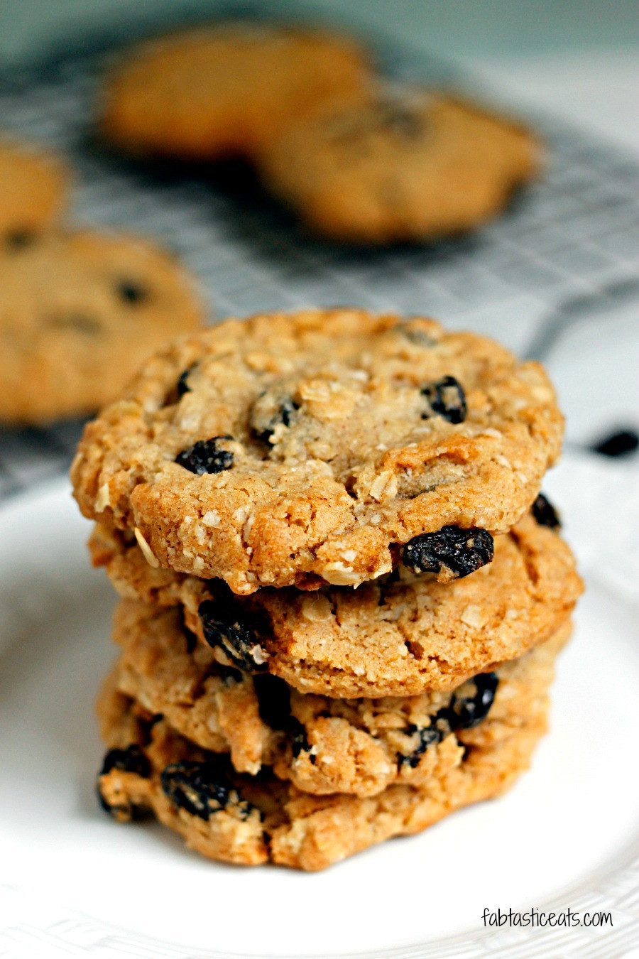 Recipe For Oatmeal Raisin Cookies  Crispy Oatmeal Raisin Cookies Belle Vie