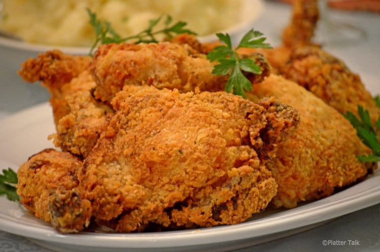 Recipe For Oven Fried Chicken  Oven Fried Buttermilk Chicken Half Fried Half Baked