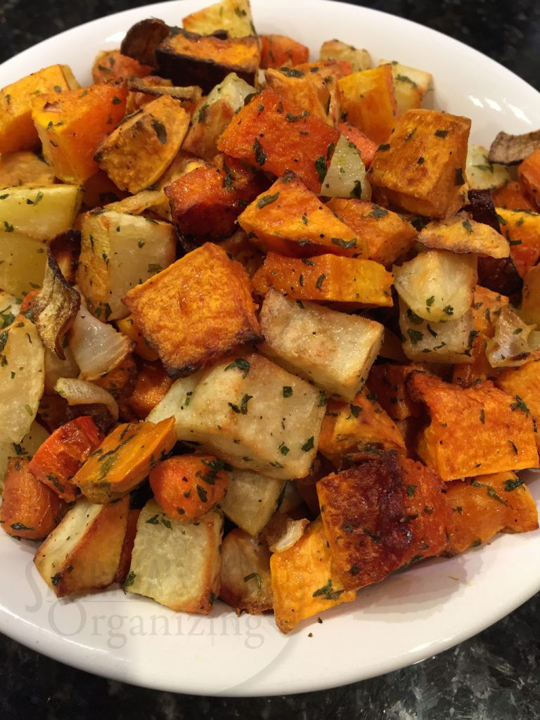 Recipe For Roasted Vegetables  Easy Roasted Ve ables Recipe