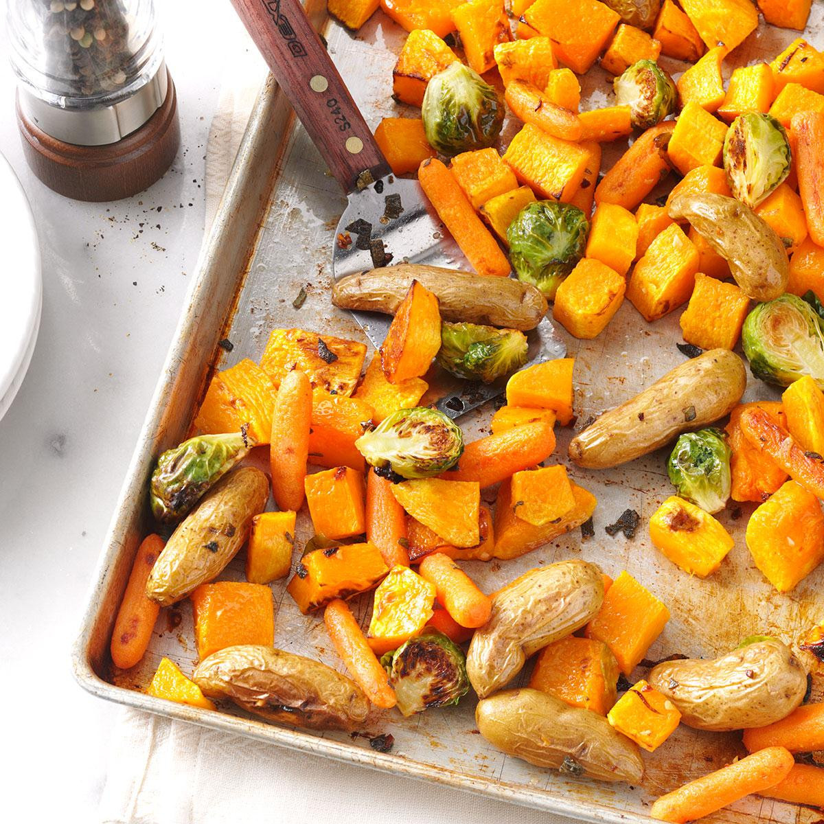 Recipe For Roasted Vegetables  Roasted Ve ables with Sage Recipe