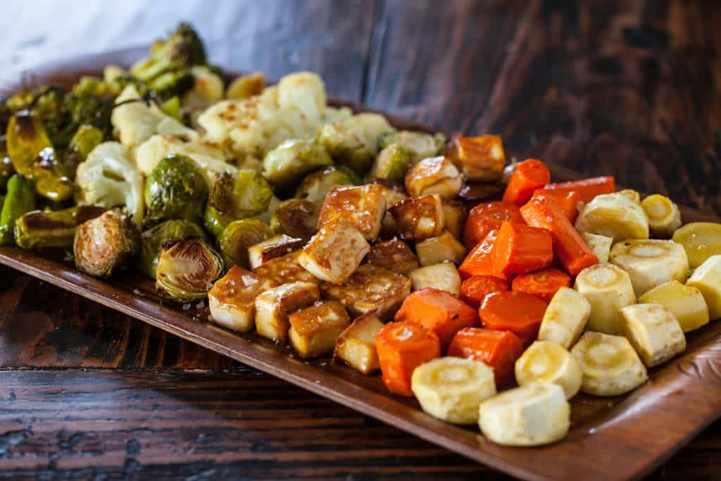 Recipe For Roasted Vegetables  Roasted Tofu and Ve ables Steamy Kitchen Recipes