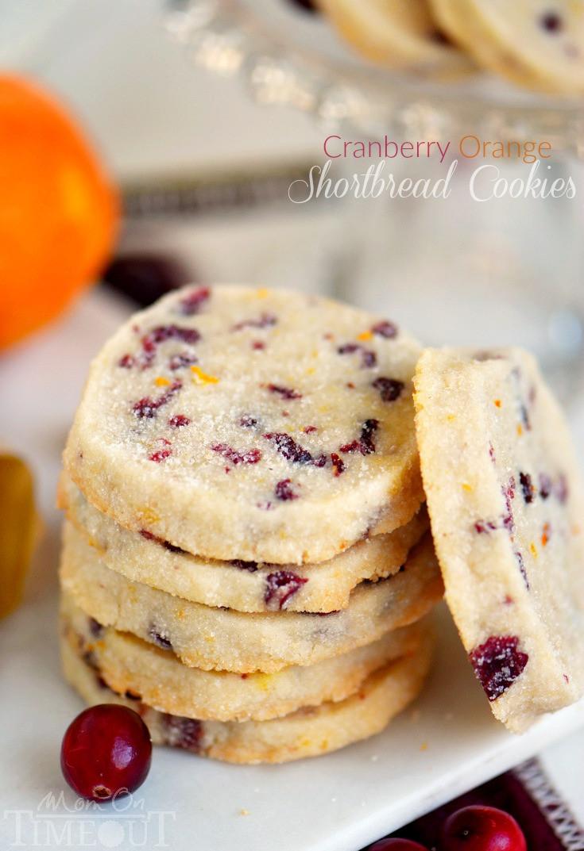 Recipe For Shortbread Cookies  Cranberry Orange Shortbread Cookies Mom Timeout