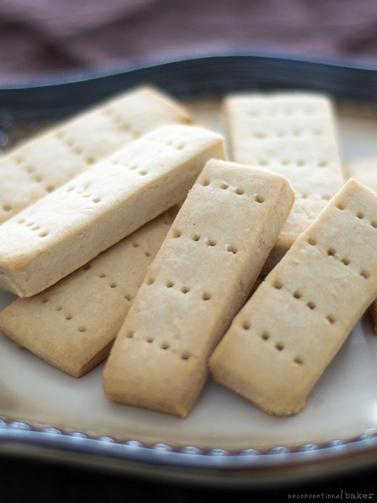 Recipe For Shortbread Cookies  Simple Gluten Free Vegan Shortbread Cookies