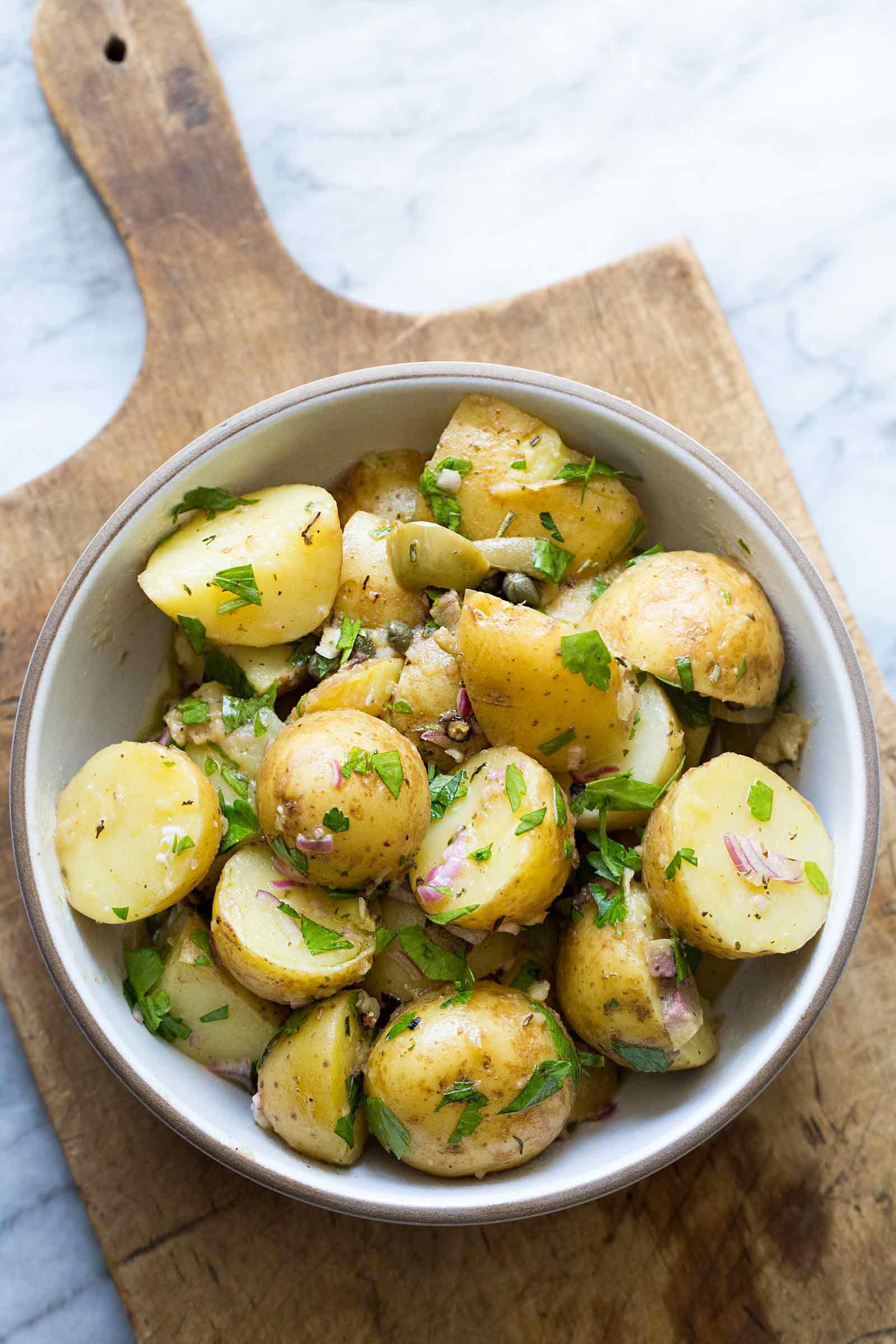 Recipe Potato Salad  Provencal Potato Salad Recipe