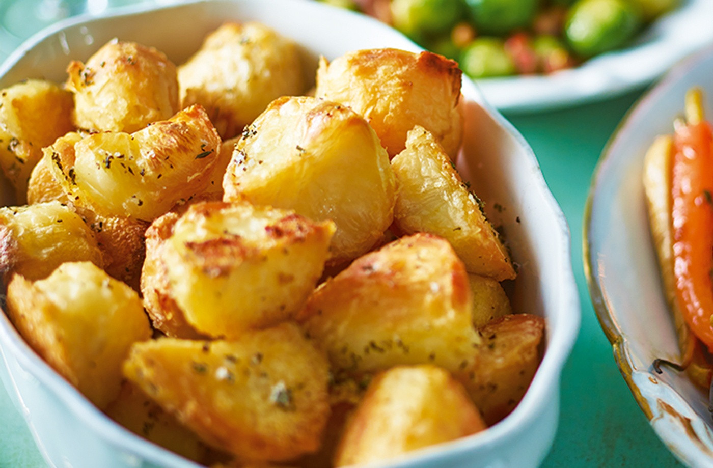 Recipe Roasted Potatoes  Herby Roast Potatoes Recipe