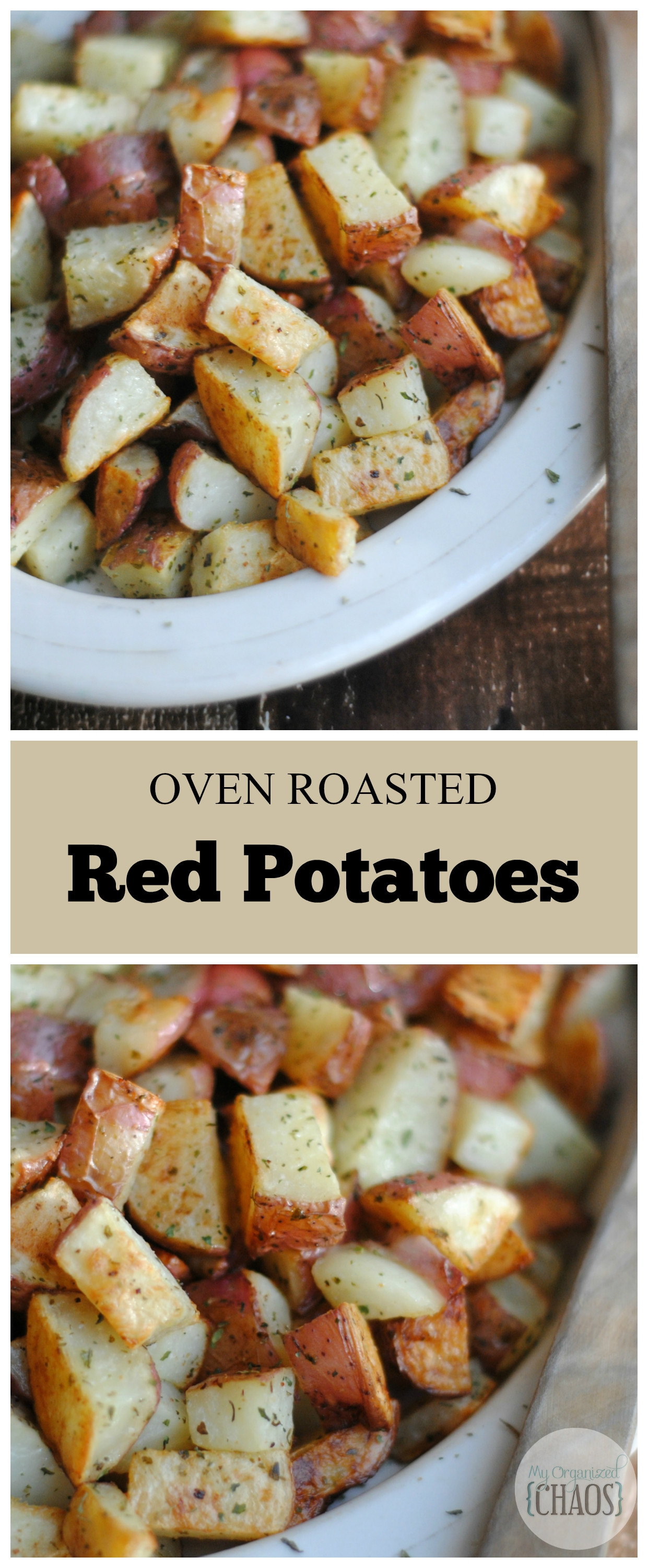 Recipe Roasted Potatoes  Oven Roasted Red Potatoes