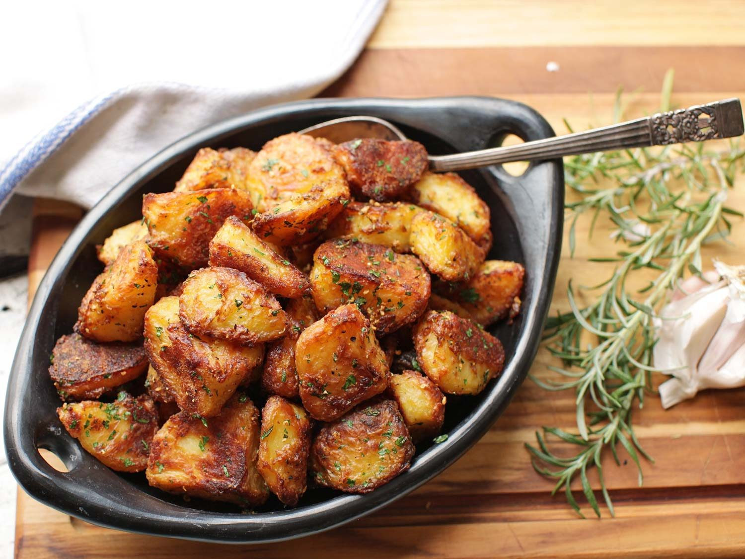 Recipe Roasted Potatoes  The Best Roast Potatoes Ever Recipe