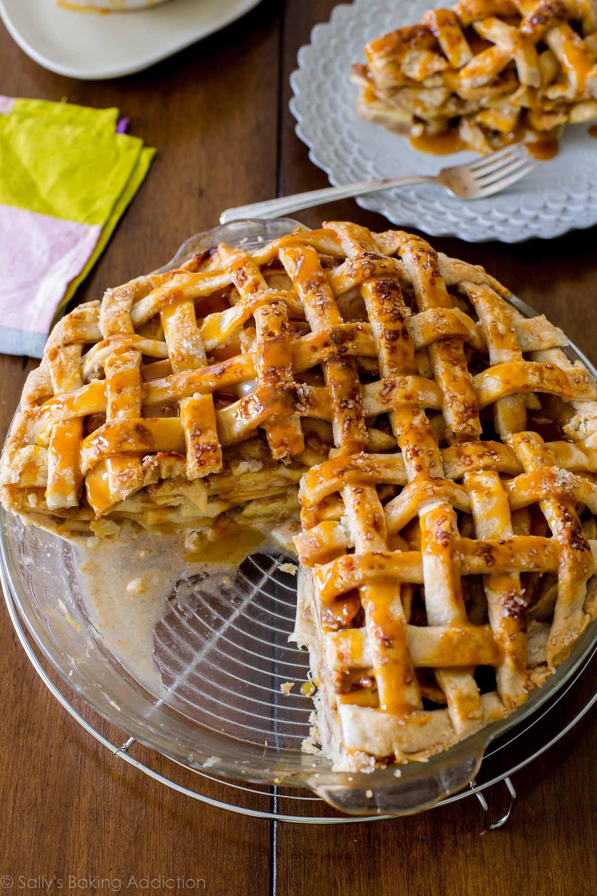 Recipes For Apple Pie  Deep Dish Apple Pie Sallys Baking Addiction