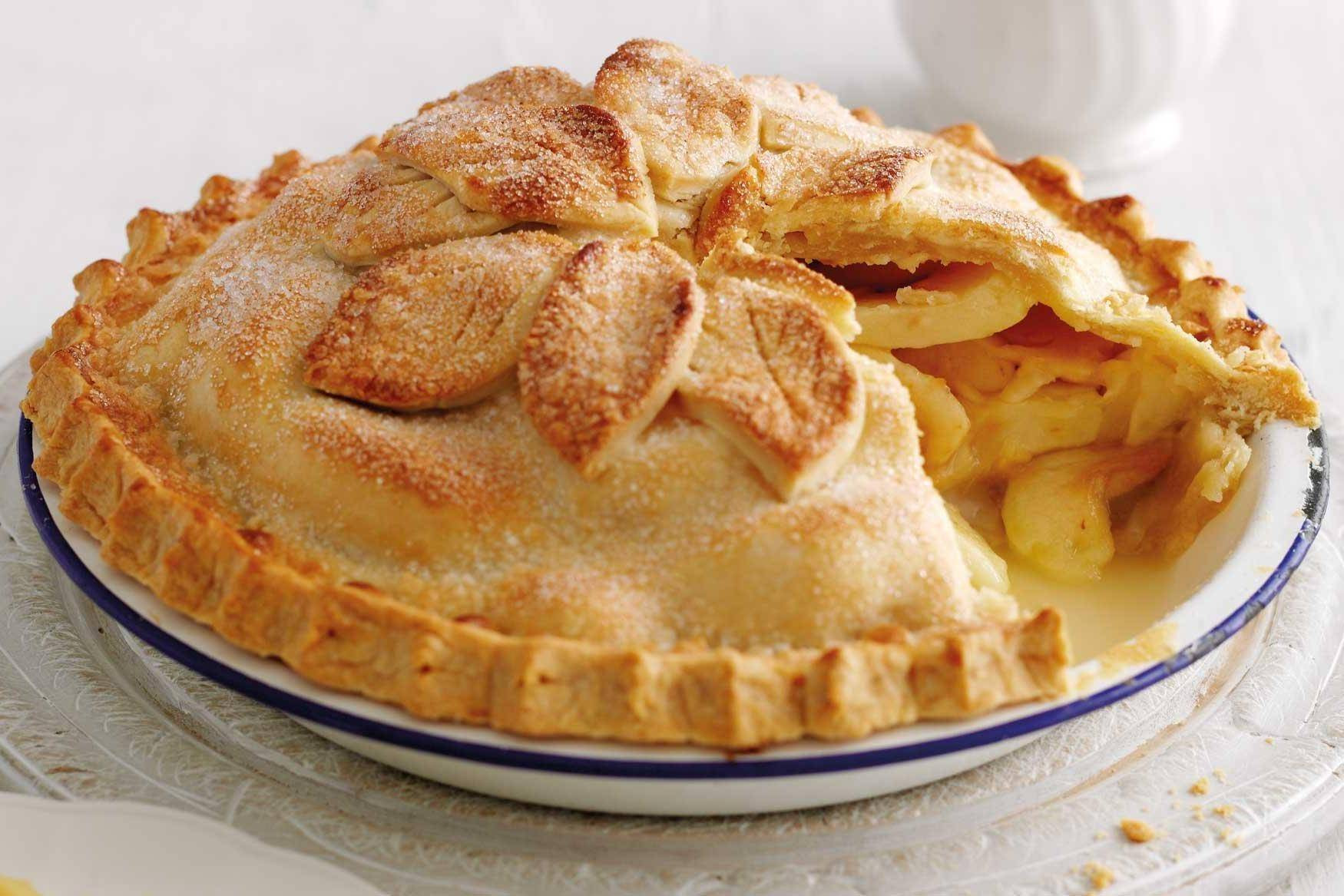 Recipes For Apple Pie  better homes and gardens double crust apple pie recipe