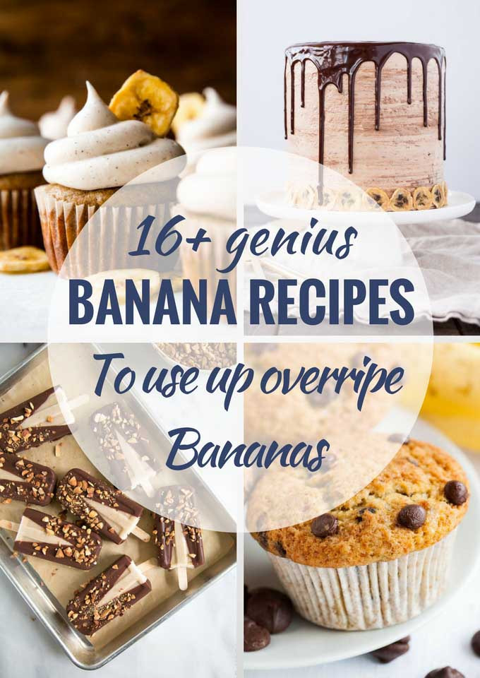 Recipes For Ripe Bananas Other Than Banana Bread  16 Delicious Recipes to Use up Ripe Bananas