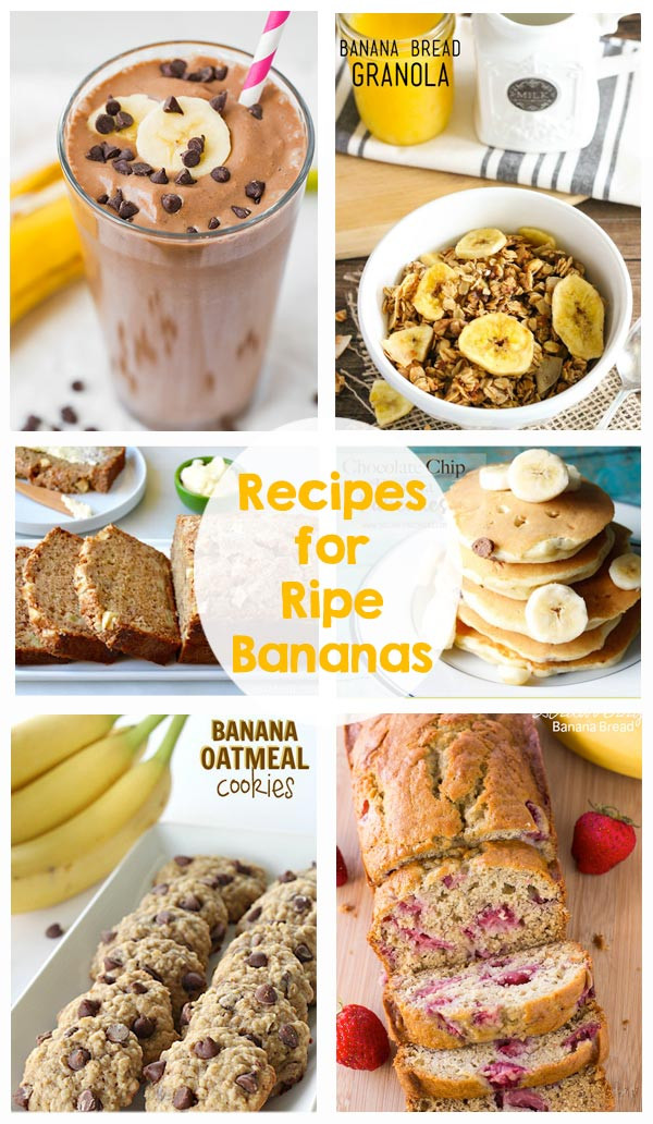 Recipes For Ripe Bananas Other Than Banana Bread  ripe banana recipes